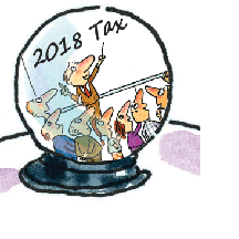Crystal ball for 2018 tax